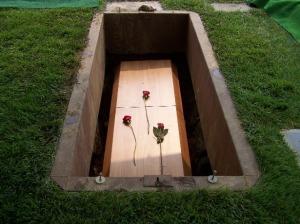 I buried you