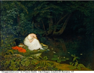 Disappointed Love, 1821. Oil on panel, 24 3/4 x 32 in. (62.8 x 81.2 cm). Inv.: FA.65[O].