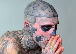 Place brain in skull